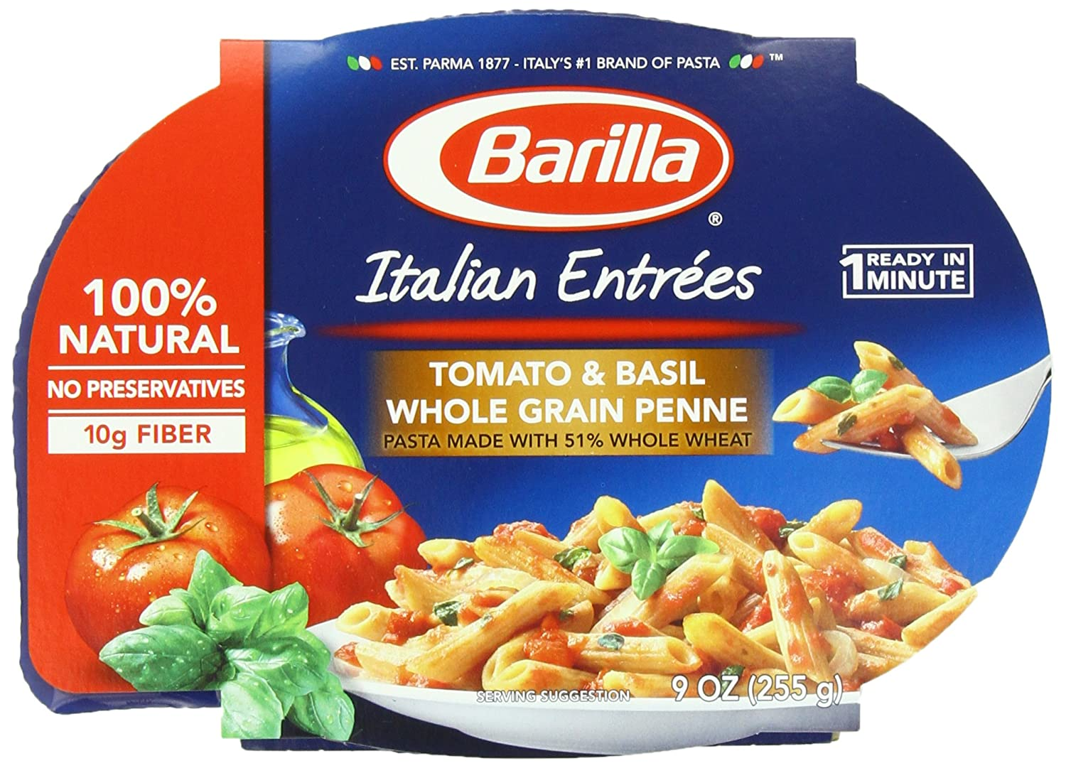 com barilla italian entrees meat sauce gemelli 9 ounce  com barilla italian entrees meat sauce gemelli 9 ounce pack of 6 packaged pasta dinner kits grocery gourmet food