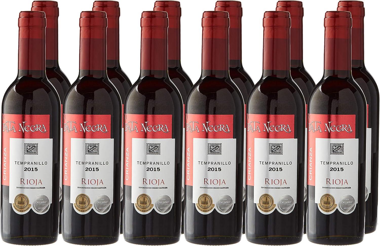 Pata Negra Crianza Tempranillo Vino Tinto D.O Rioja - Pack de 12 ...