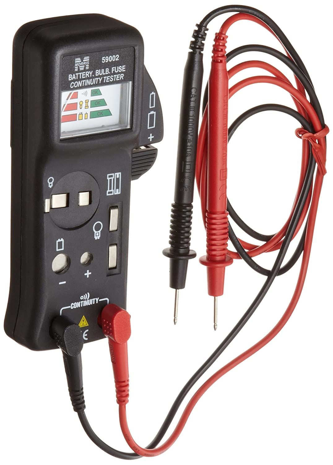 Fuse Bulb Continuity Tester Morris Products 59002 Battery
