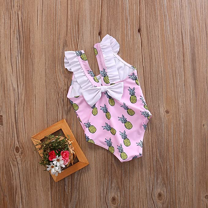 05d304782e5d3 Wide.ling - Bañador - para bebé Niña  Amazon.es  Ropa y accesorios