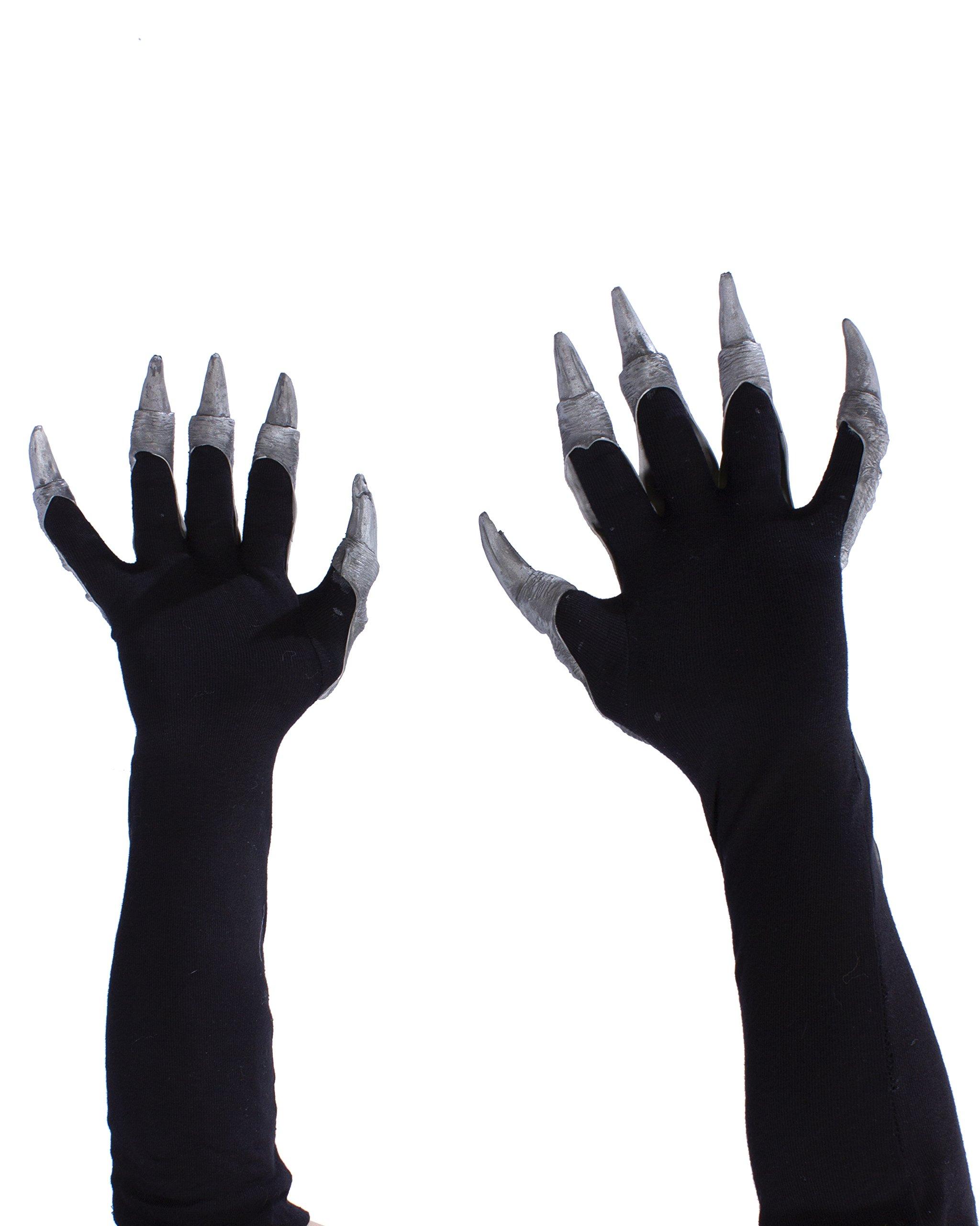 Zagone Studios Silver Dragon Gloves with Scales by Zagone Studios (Image #2)