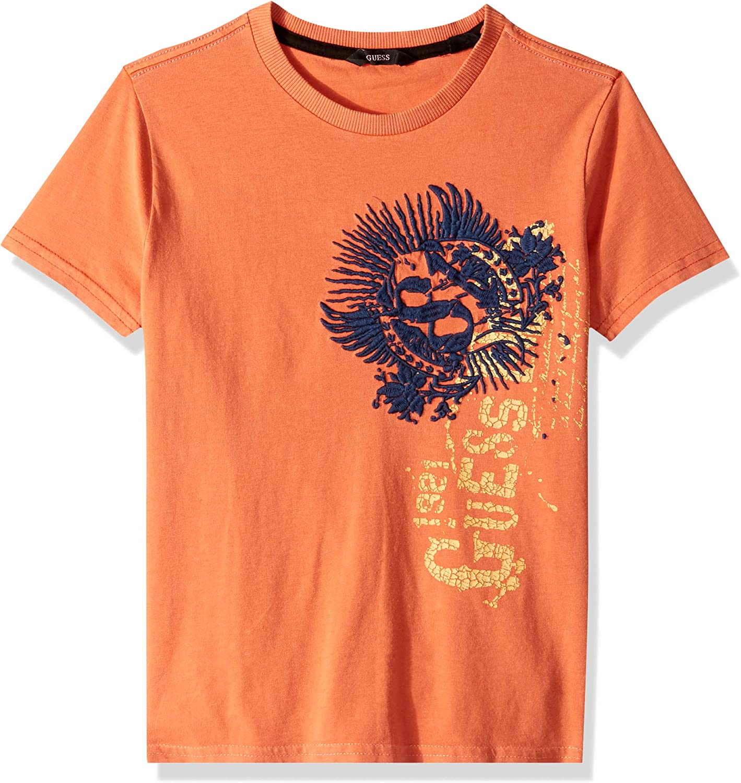 GUESS Boys Big Short Sleeve Side 81 Graphic T-Shirt