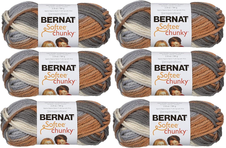 Bernat Softee Chunky Ombre Yarn-Stillness 161129-29117