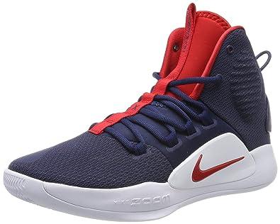 ad7c8282e431 NIKE Men s Hyperdunk X Basketball Shoe AO7893-400 8 D(M) US