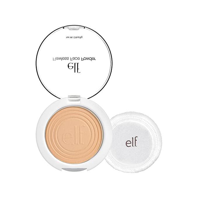 (3 Pack) e.l.f. Essential Flawless Face Powder Light Beige