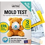 Mold Test Kit for Home - All-Inclusive Detection Kit DIY Mold Detector for Visual incl. Black Mold and Mildew | EPA Approved