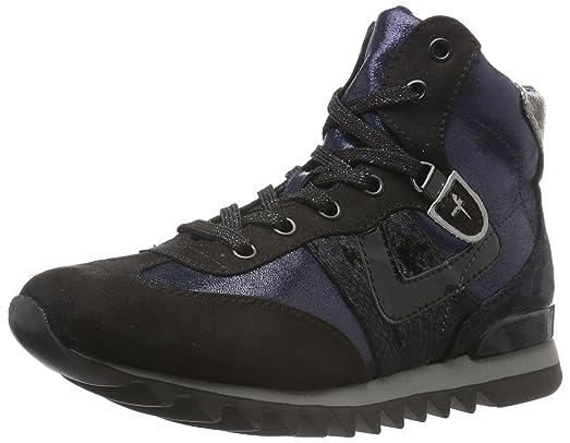 Tamaris 25216, Zapatillas Altas para Mujer, Azul (Navy Comb 890), 38 EU