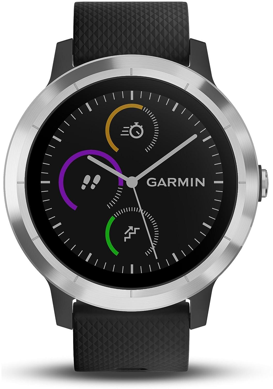Garmin v%C3%ADvoactive GPS Smartwatch Stainless Image 2