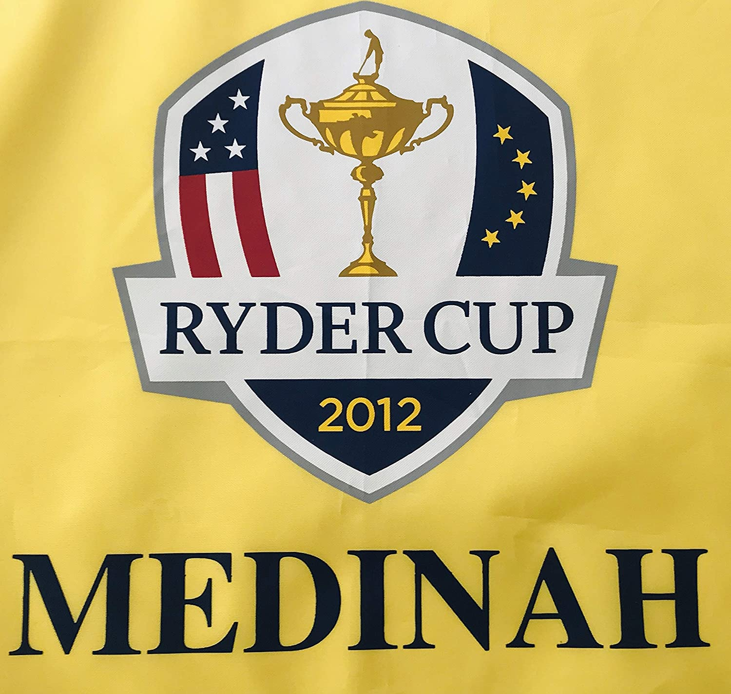 a10a7c4a274 Rory Mcilroy signed Ryder cup golf flag medinah 2012 team europe pga at  Amazon s Sports Collectibles Store