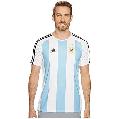 (アディダス) adidas メンズタンクトップ・Tシャツ Argentina Home Fan Shirt White/Clear Blue/Black S