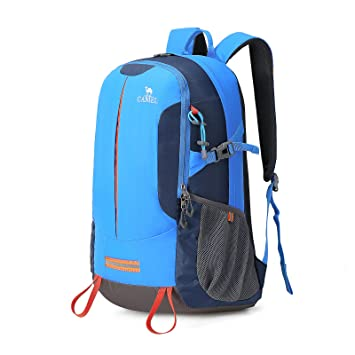 Camel Hiking Backpack Trekking Rucksack 30L Travel Backpack Lightweight  Outdoor Daypack, Water-resistant Sport 2a1e114f9e