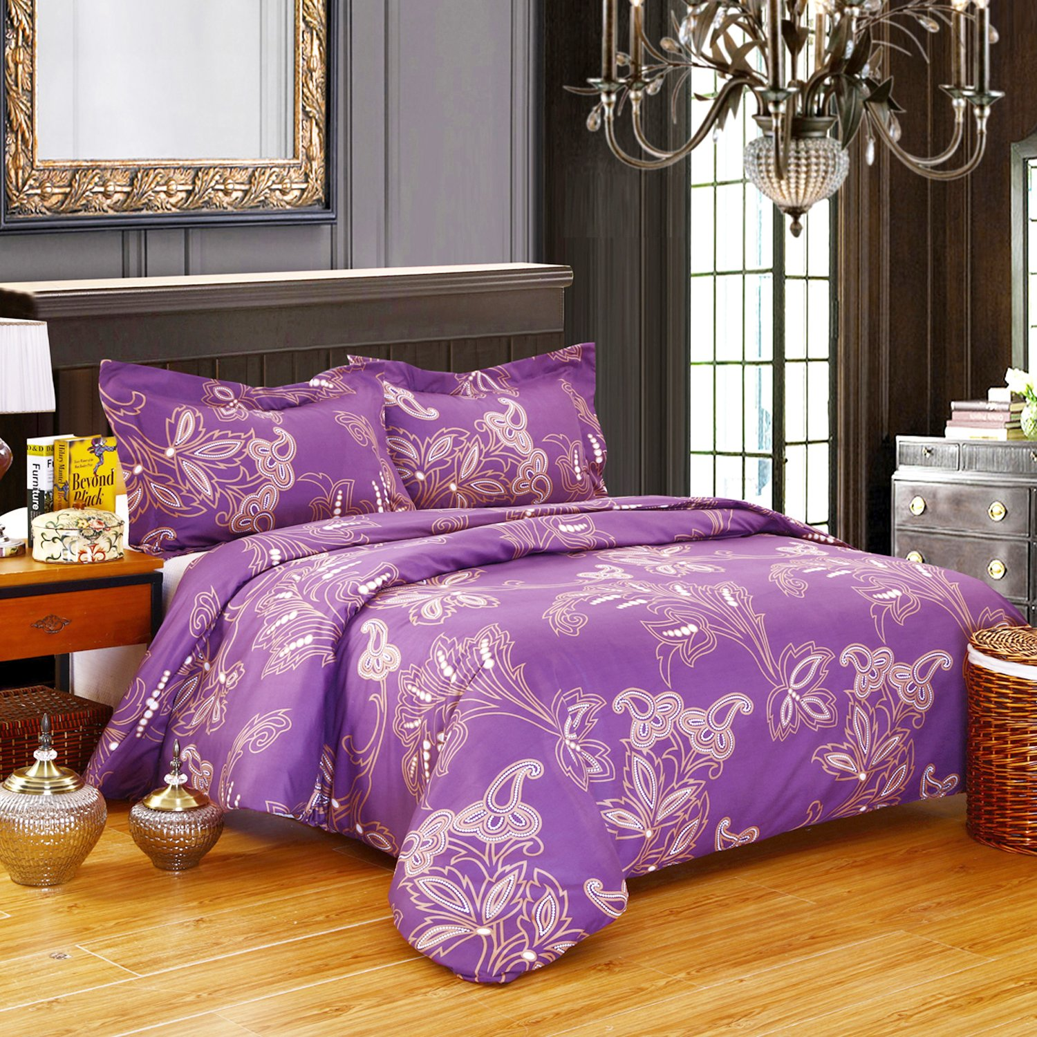 DelbouTree 3pcs Bedding Set