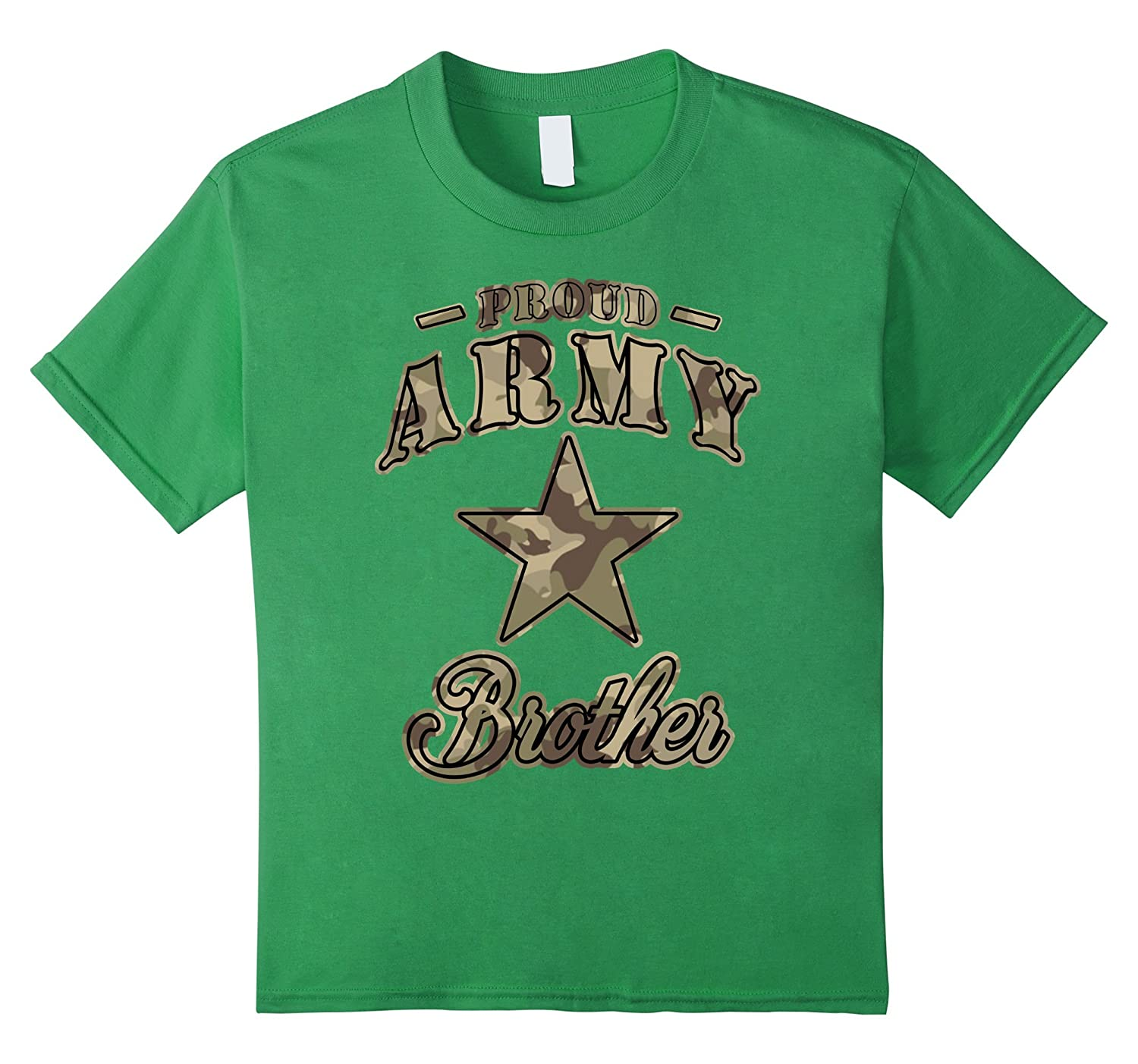 Military Camouflage Army Brother T shirts-Awarplus