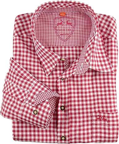 Maddox Camisa Tradicional Escocesa Rojo-Blanco XXL: Amazon.es: Ropa y accesorios