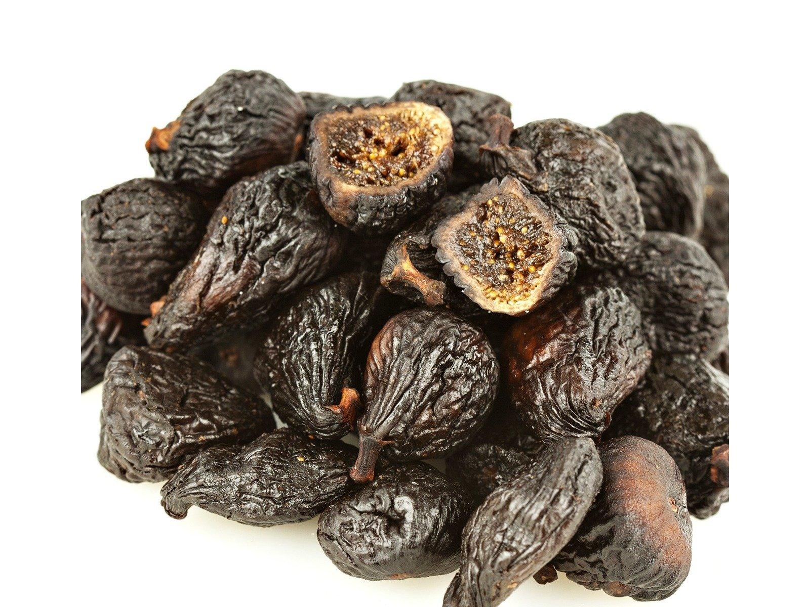 Bulk Fruits Black Mission Figs, 30 Pound