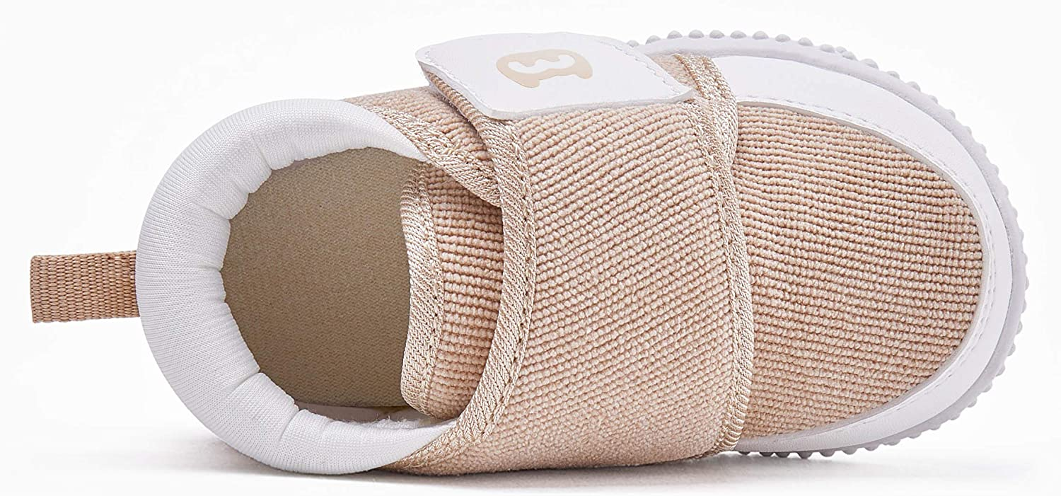BMCiTYBM Baby Shoes Boy Girl Infant Sneakers Winter Warm Non Slip First Walkers 6 9 12 18 24 Months