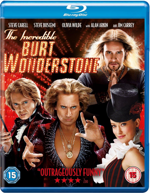 The Incredible Burt Wonderstone Blu Ray Region Free Steve Carell Steve Buscemi Don Scardino Cine Y Tv