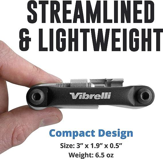 Vibrelli Bike Multi Tool Performance Bicycle Multitool