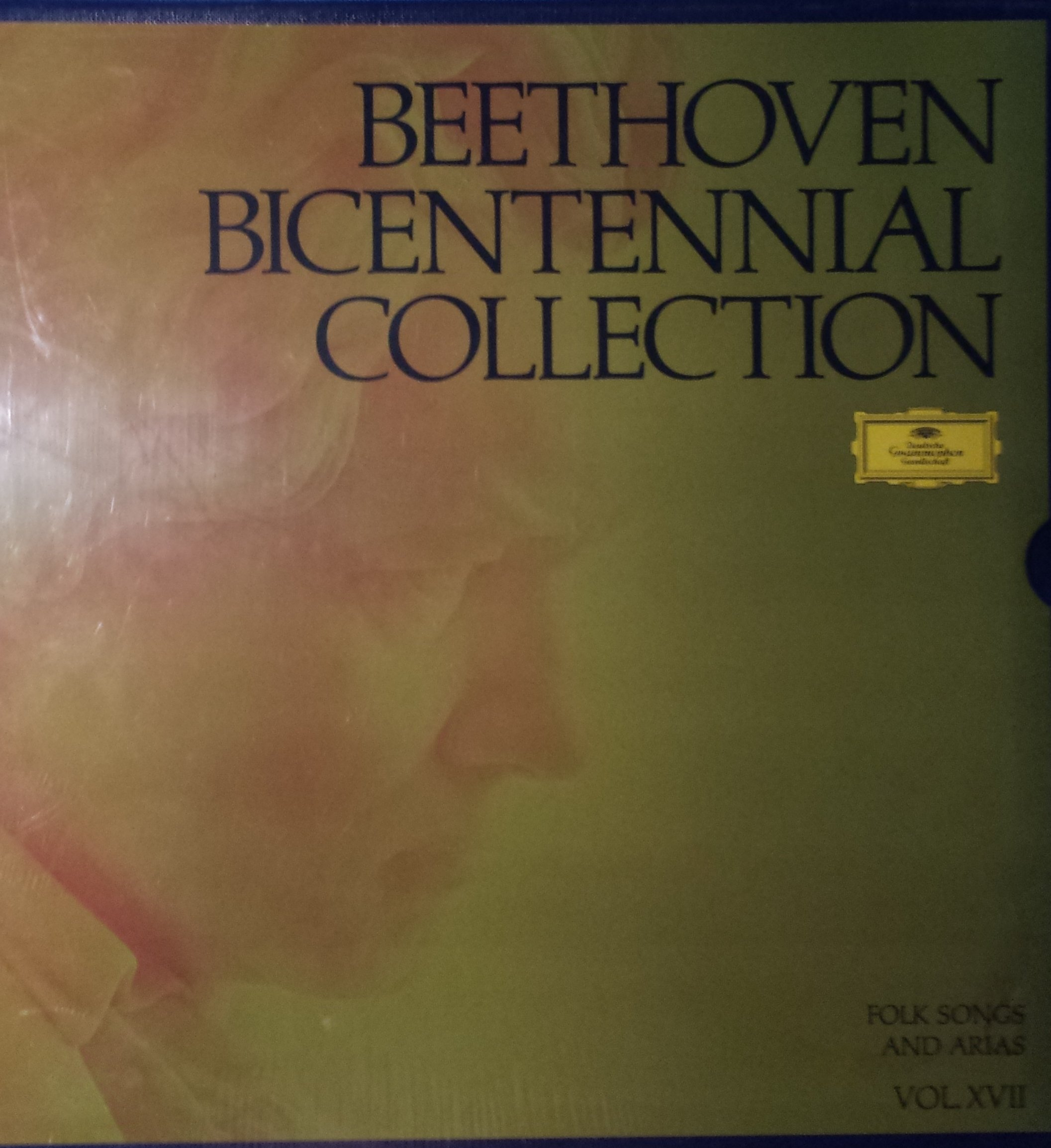 Beethoven Bicentennial Collection Folk Songs and Arias Vol XVII by Deutsche Grammophon Gesselschaft