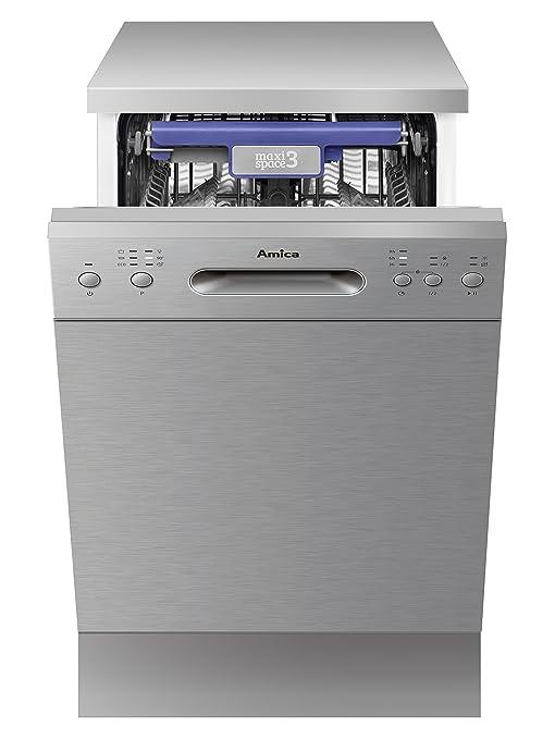 Amica Stand de lavavajillas GSP 14844 S by, Acero Inoxidable, 001 ...