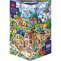 "Heye ""Happytown Berman Triangular Puzzles (1500-Piece, Multi-Colour)"