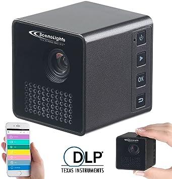 SceneLights Teléfono Proyectores: Mini de LED de Proyector ...