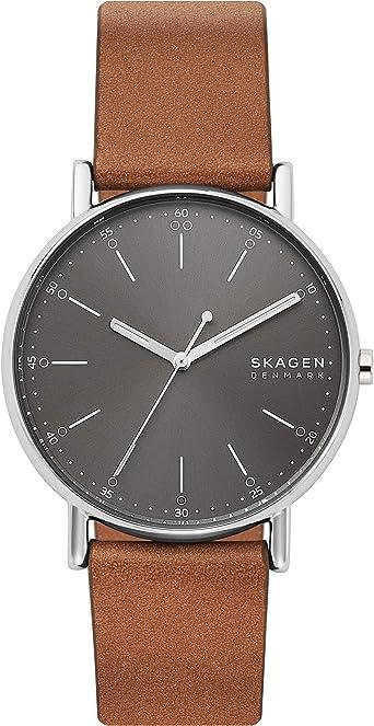 Skagen Signatur Three-Hand 40mm Minimalist Watch