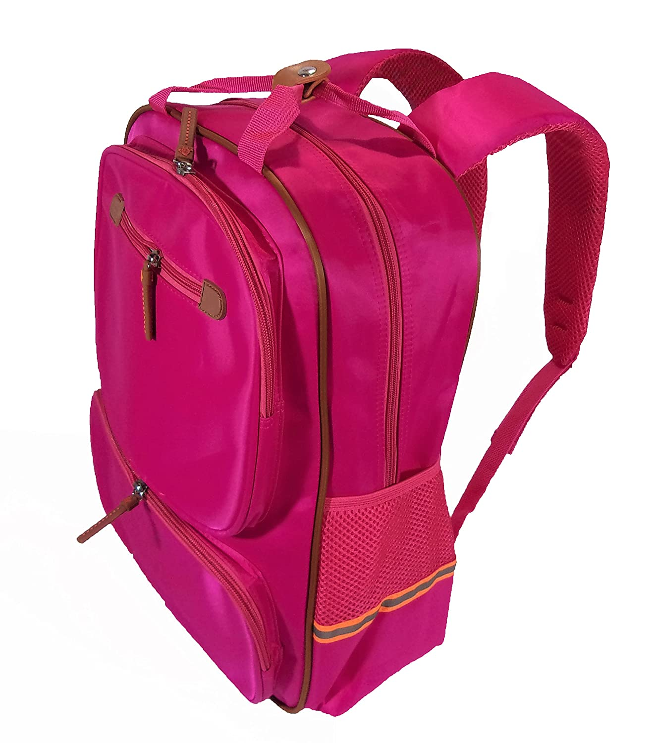 73f882d7e3 Amazon.com  Waterproof School Backpack Assorted for Boys and Girls. Tear  resistant for school and travel. Made of Nylon and Fluorescent Strips.   Clothing