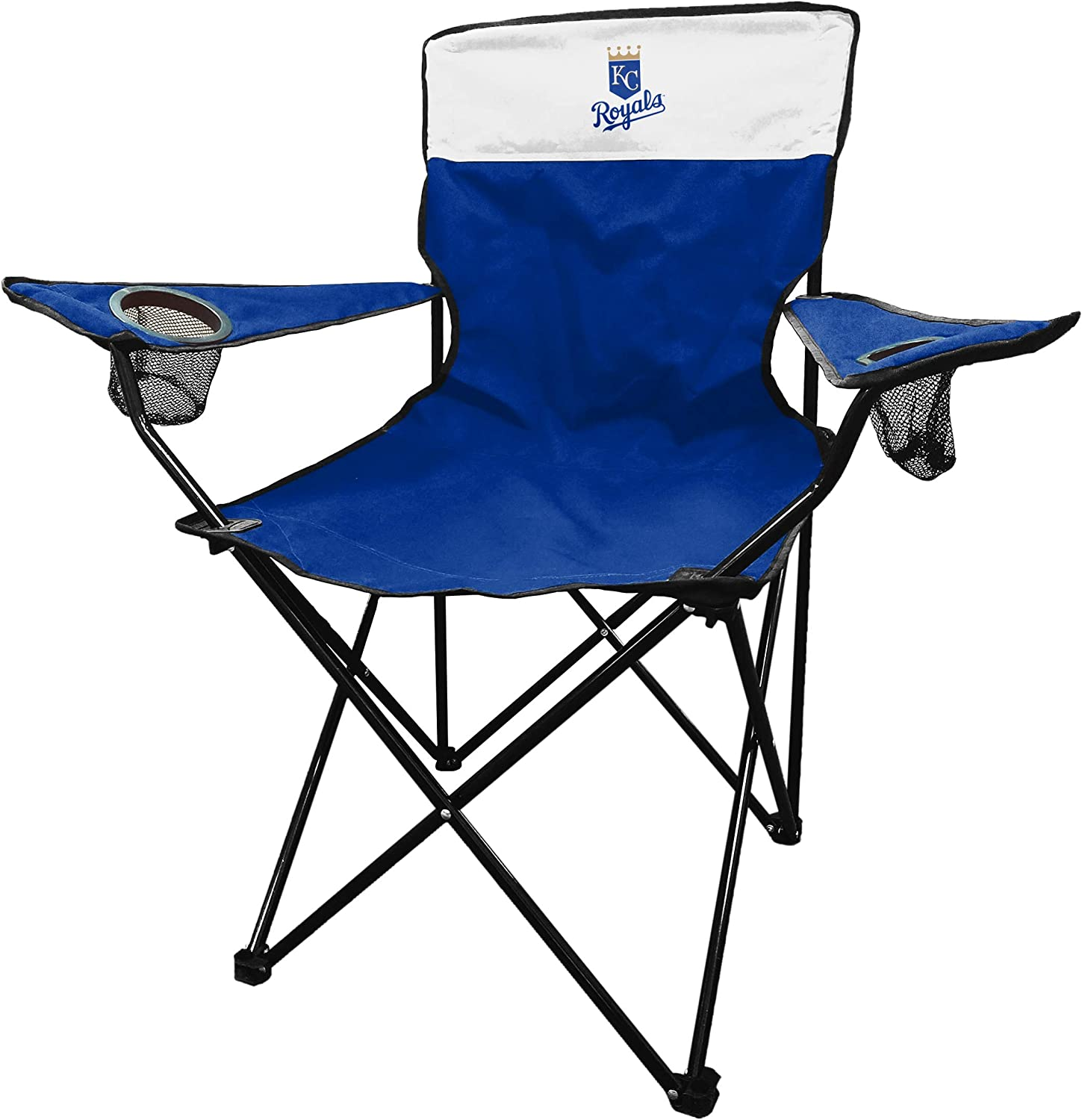 Royal Blue//White One Size Logo Brands MLB Kansas City Royals Unisex Legacy Sporting Chair