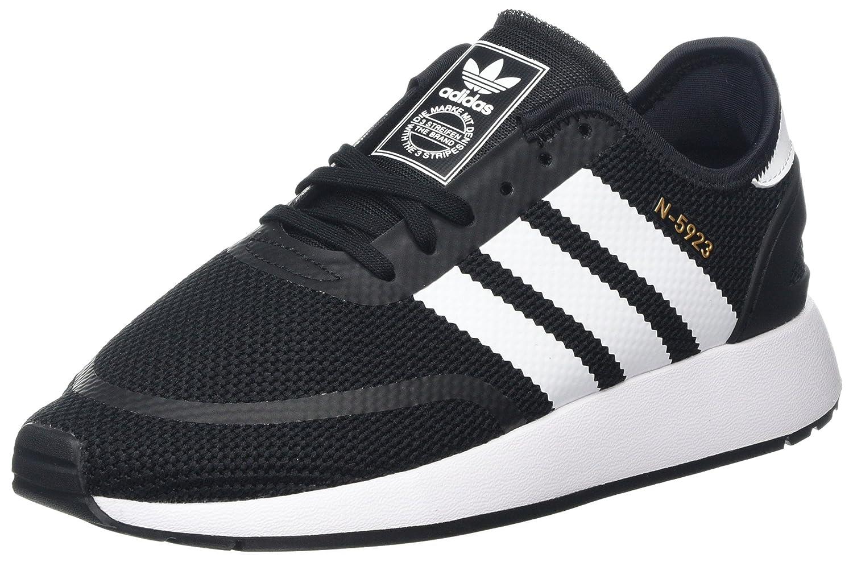 Noir (Negbás   Ftwbla   Gritre 000) 37 1 3 EU adidas N-5923 J, Chaussures de Fitness Mixte Enfant