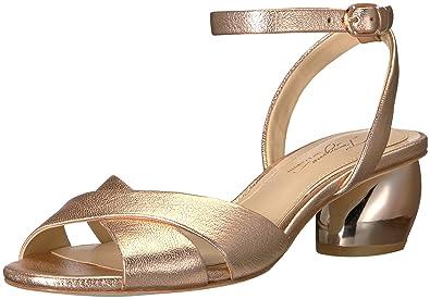 c8342ec62739 Imagine Vince Camuto Women s LEVEN2 Heeled Sandal Rose Gold 5 Medium US