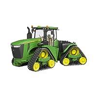 BRUDER - 04055 - Tracteur John Deere 9620RX avec chenilles