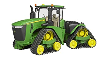 Bruder 4055 fahrzeug john deere 9620rx raupentraktor grün: amazon