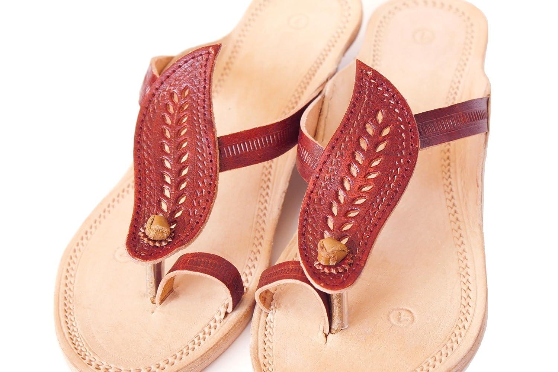 a8e7bb2a94d Amazon.com  Handmade kolhapuri leather sandals