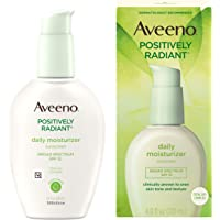 Aveeno Positively Radiant Daily Facial Moisturizer with Broad Spectrum SPF 15 Sunscreen & Total Soy Complex for Even…