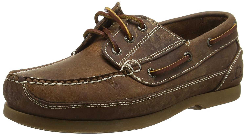 Chatham Herren Rockwell Bootsschuhe, Braun  43 EU|Braun (Walnut)