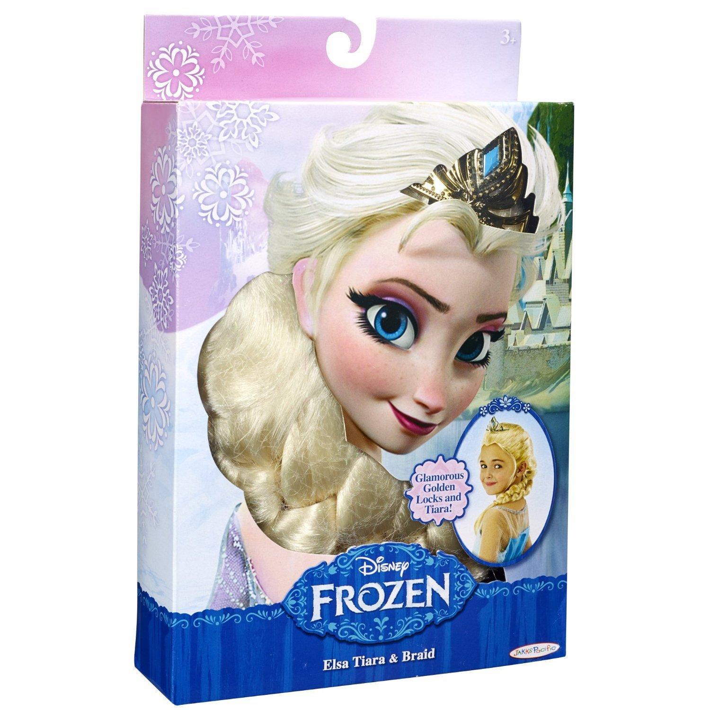 【当店一番人気】 アナと雪の女王 エルサのティアラと三つ編みウィッグ髪の毛 Disney Frozen Frozen Elsa's Tiara and and Braid Braid B00IVDXANW, インテリア雑貨Cute:a42cbfc4 --- a0267596.xsph.ru
