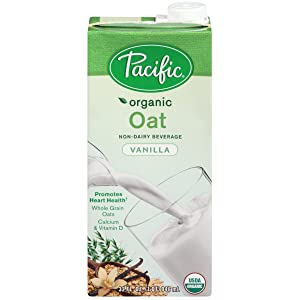 Pacific Oat Beverage Vanilla, 32-ounces (Pack of6)