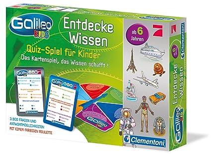 Clementoni 69808 - Galileo Kids Wissensquiz