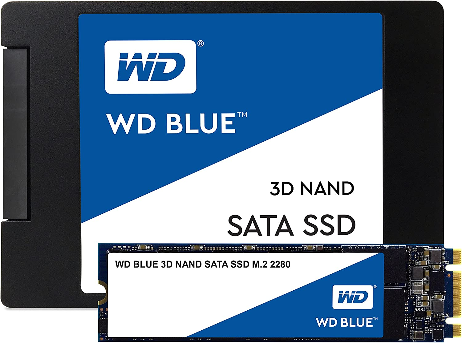 Western Digital WDS100T2B0B WD Blue 1TB 3D NAND Internal SSD M.2 ...