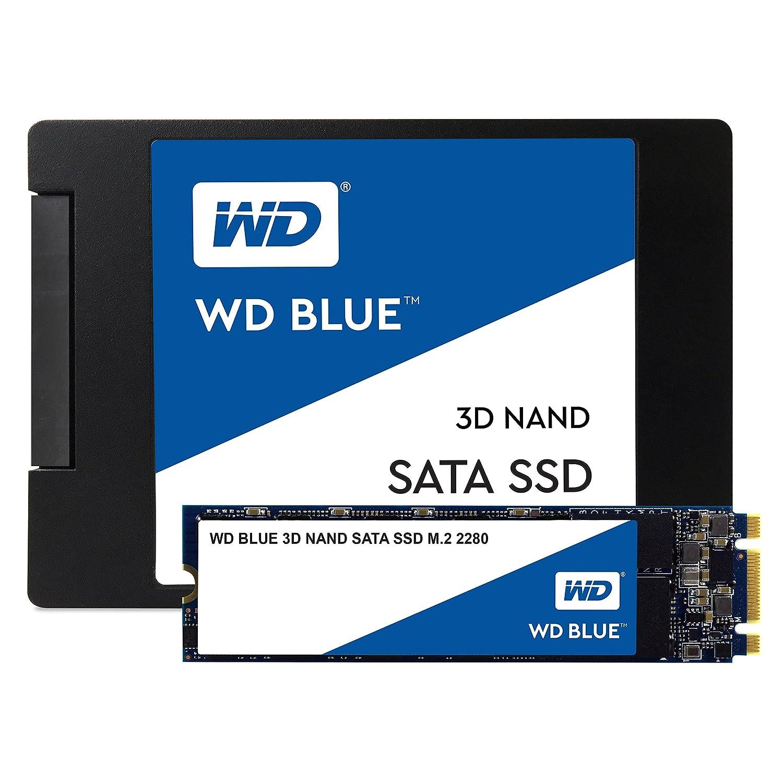 WD Blue 3D NAND Internal PC SSDs