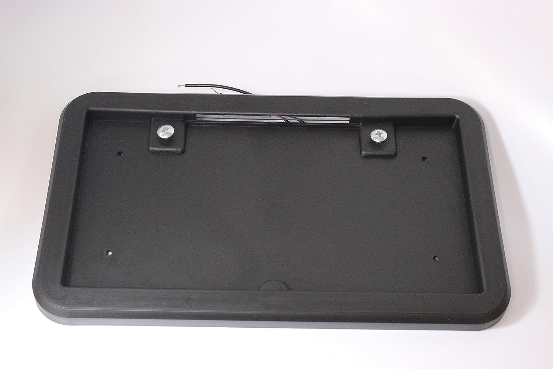 Kaper II 1M-V-8 Black License Plate Bracket