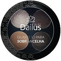 Quarteto Para Sobrancelha 02, Universal, Dailus, Multicor