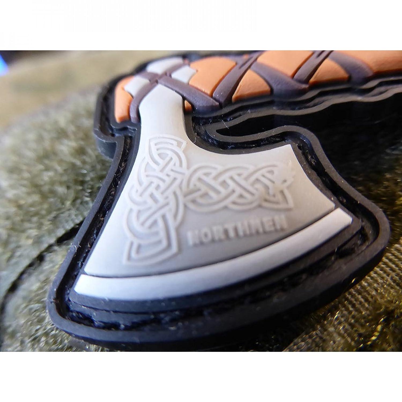 Jackets To Go Wikinger Viking Vikings Odin Northmen AXT 3D Rubber Patch fullcolor