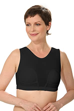 ce83b8b199 Amazon.com  HydroChic Women s Mastectomy Bra with Pockets