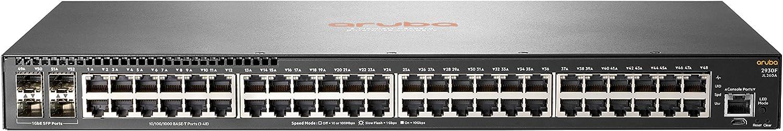 Hewlett Packard Enterprise Aruba 2930F 48G 4SFP Managed L3 Gigabit Ethernet (10/100/1000) 1U Grey