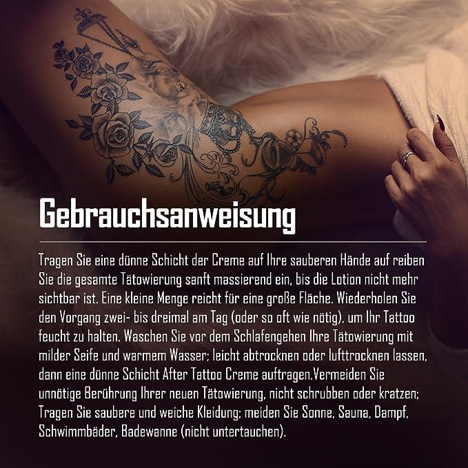GX Tattoo Crema – Tattoo de cuidado Loción Corporal – Crema ...