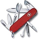 Victorinox Navaja Suiza Super Tinker 14Funciones, Color Rojo/Plata, 1.4703–033
