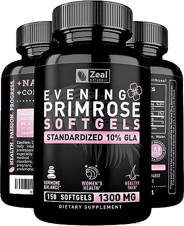 Amazon.com: Cápsulas de aceite de prímula nocturna (150 ...