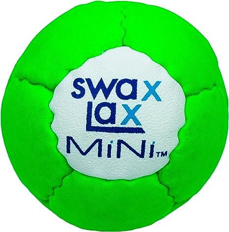 SWAX LAX Mini Pelota de Lacrosse formación Blanda – más pequeño y ...